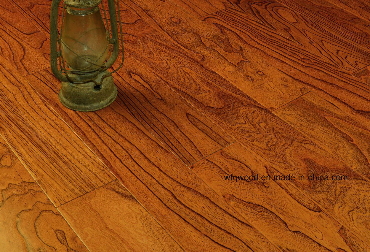 802 Multilayer Elm Wood Flooring