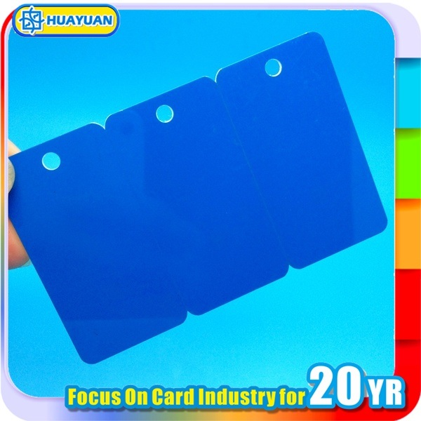 Preprinted 3 in 1 PVC loyalty Key Tag card