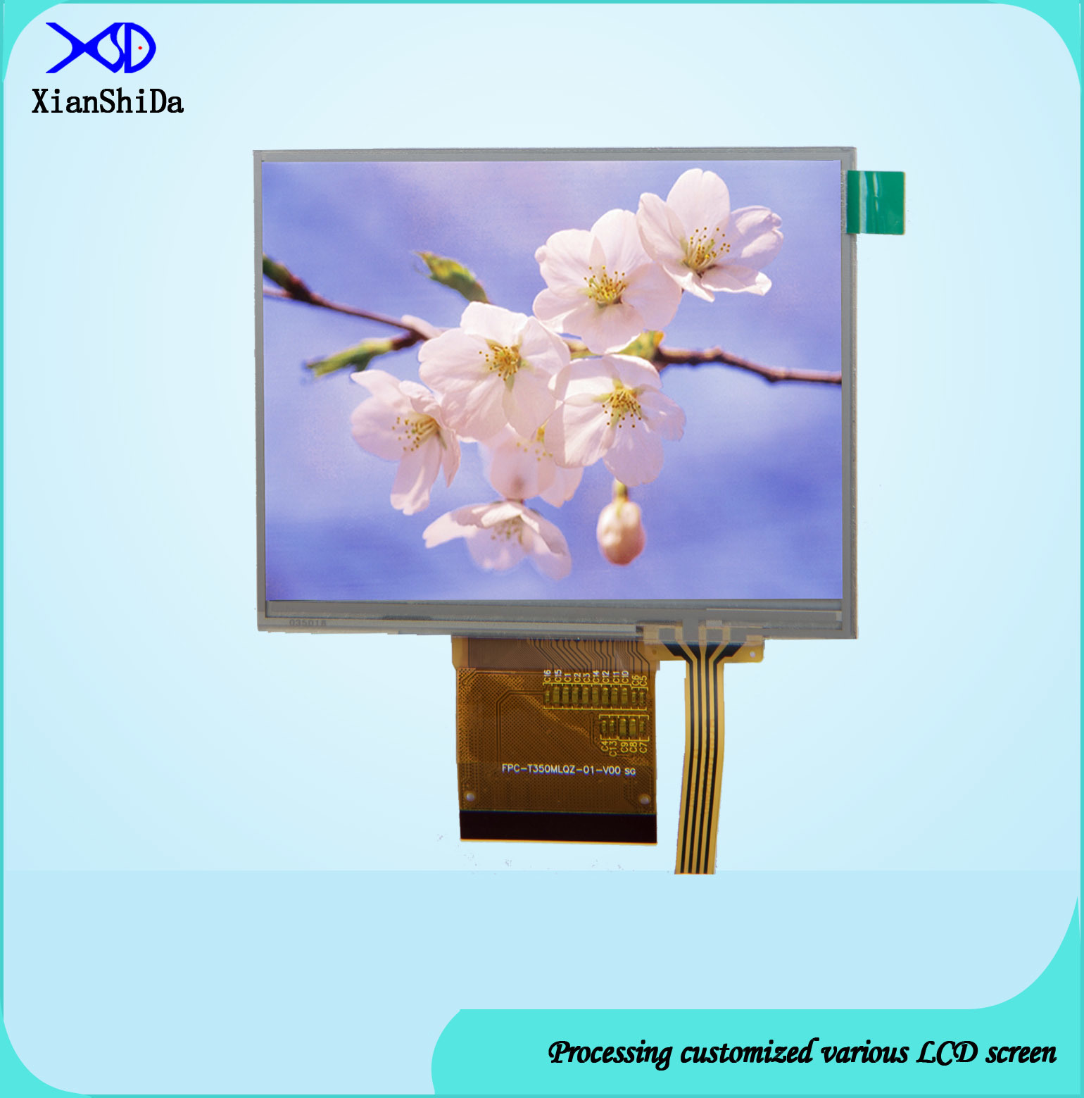 3.5 Inch TFT LCD Screen with Touch Panel