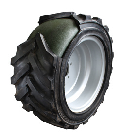 Explosion Proof, Optimum Shock Absorption, Excellent Cushioning, Polyurethane Filled Tires