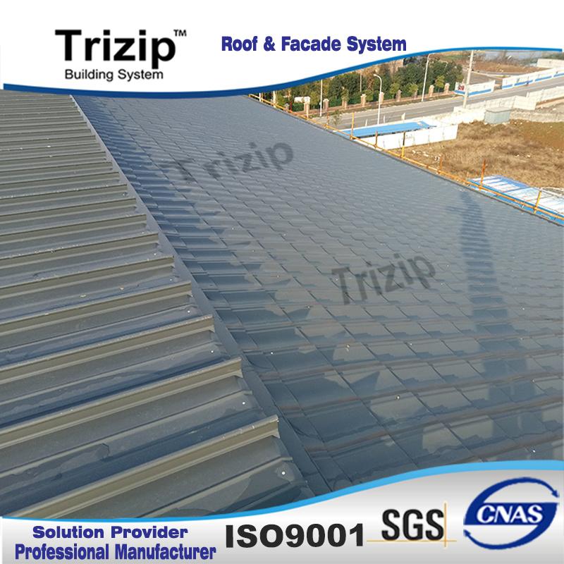 Aluminium Corrugated Roofing Tile (TD28-207-828)