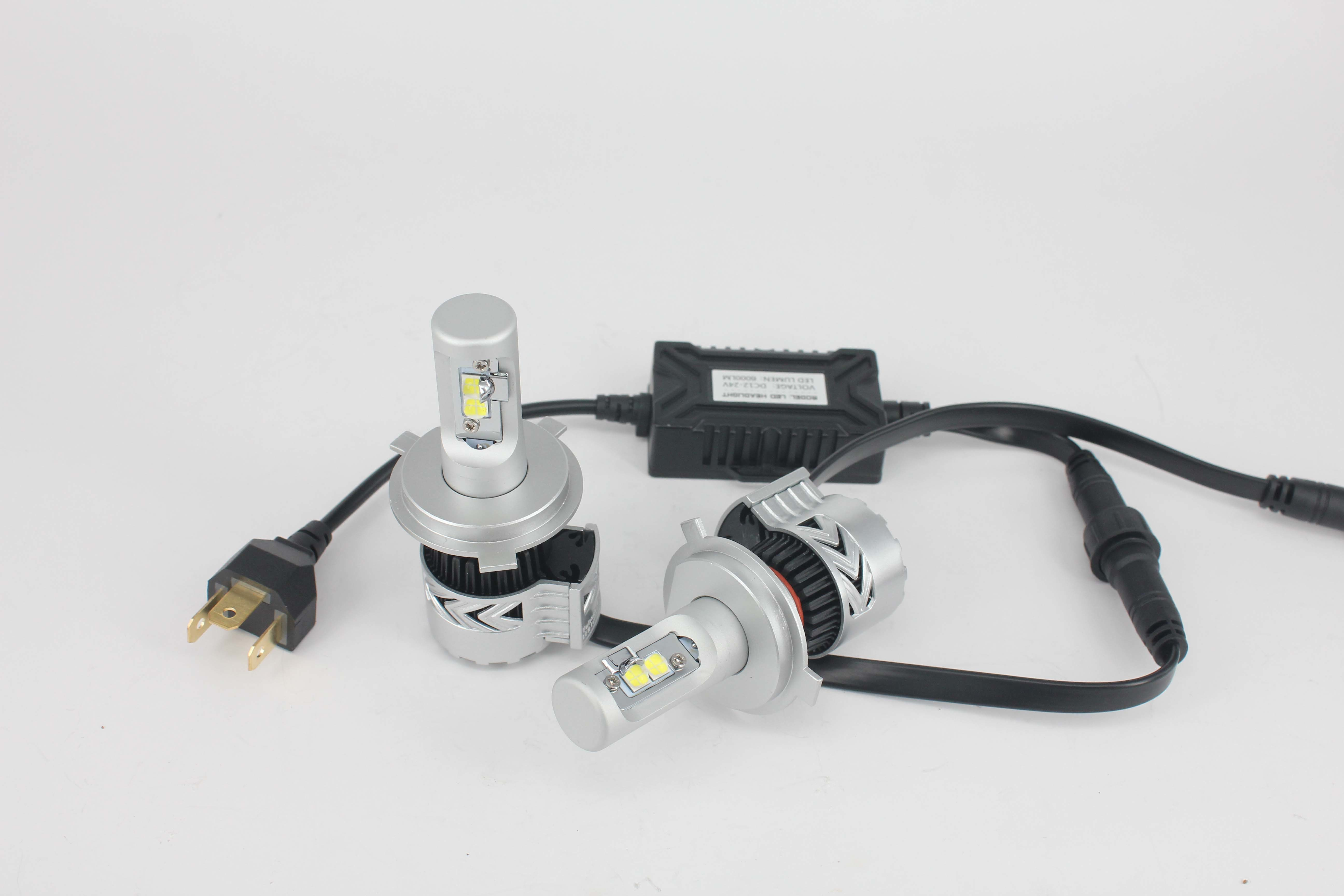 Markcars Fan T8 Car LED Light Auto Parts Headlight Bulb