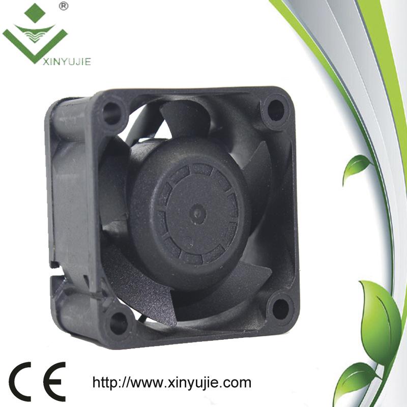 Radiator Cooling Fan Motor 24V, Mini Plastic Fan Blade 40*28mm Smoke Exhaust Fan