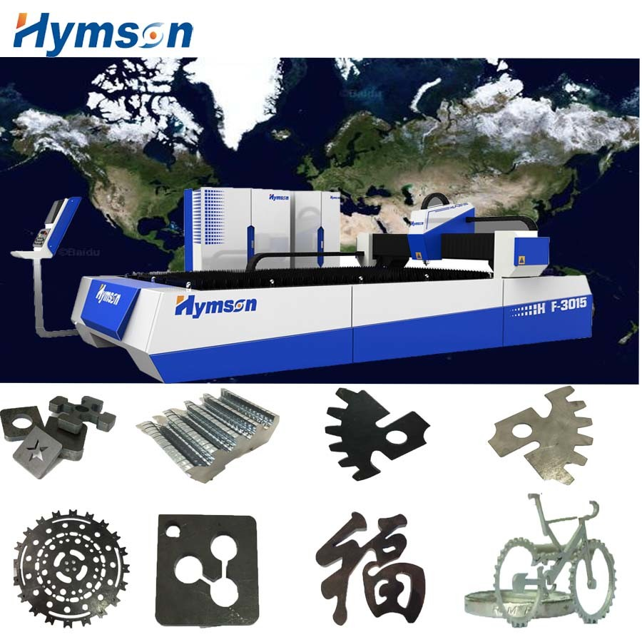 High Power Metallic Sheet Processing Fiber Laser Cutter Machine