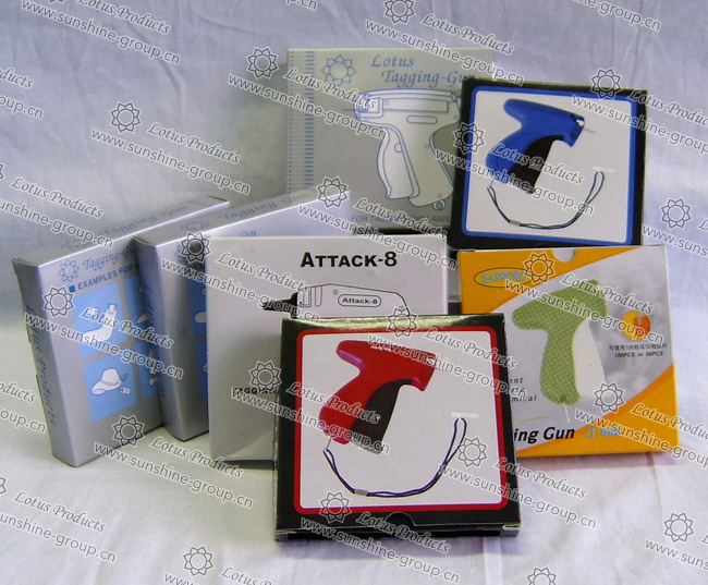 Plastic Tag Pin Gun Hand Tools Standard Tag Gun