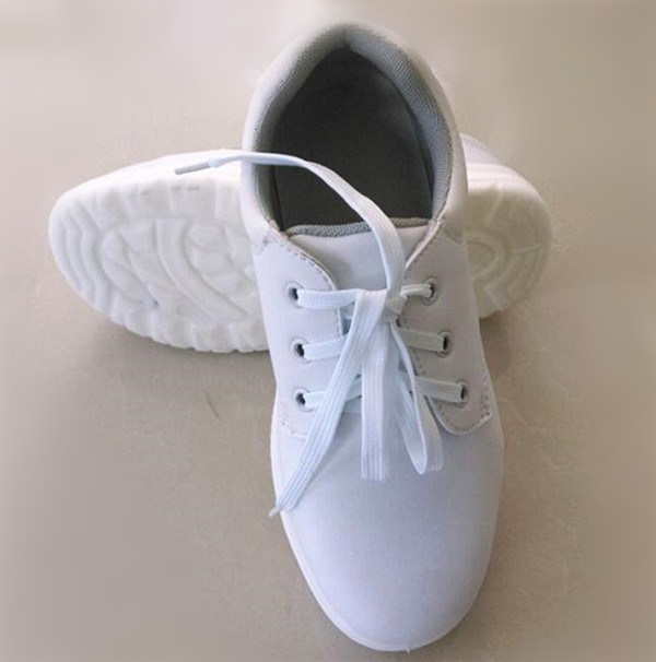White Comfortable Casual Safety Shoes (EGS-SF-0010)