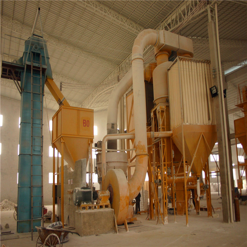 Dolomite, Fluorite, Gypsum Powder Making Raymond Grinding Mill
