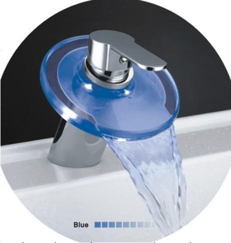 Led Faucet : China LED Faucet (HS LED 117) - China Led Faucet, Kitchen Faucet