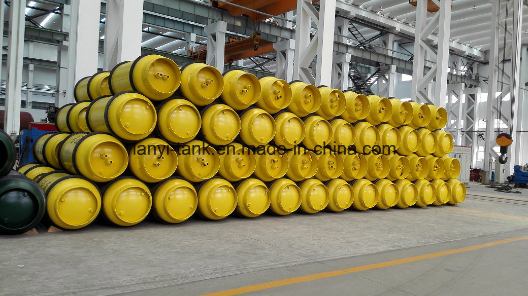 840L, 1000L, Refillable Medium Pressure Welding Gas Cylinder for Liquified Chlorine