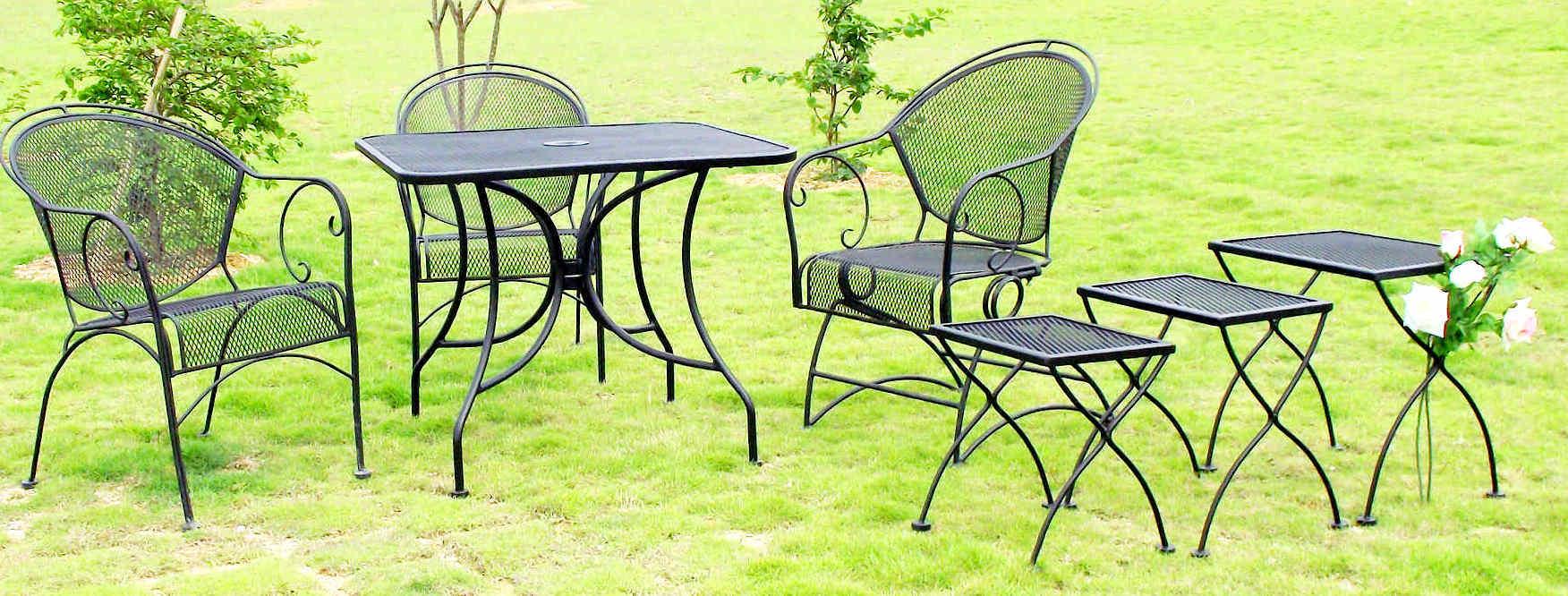 China Patio Furniture Mesh Table & Mesh Chair SV CHA212 21 SQ 91 SV C