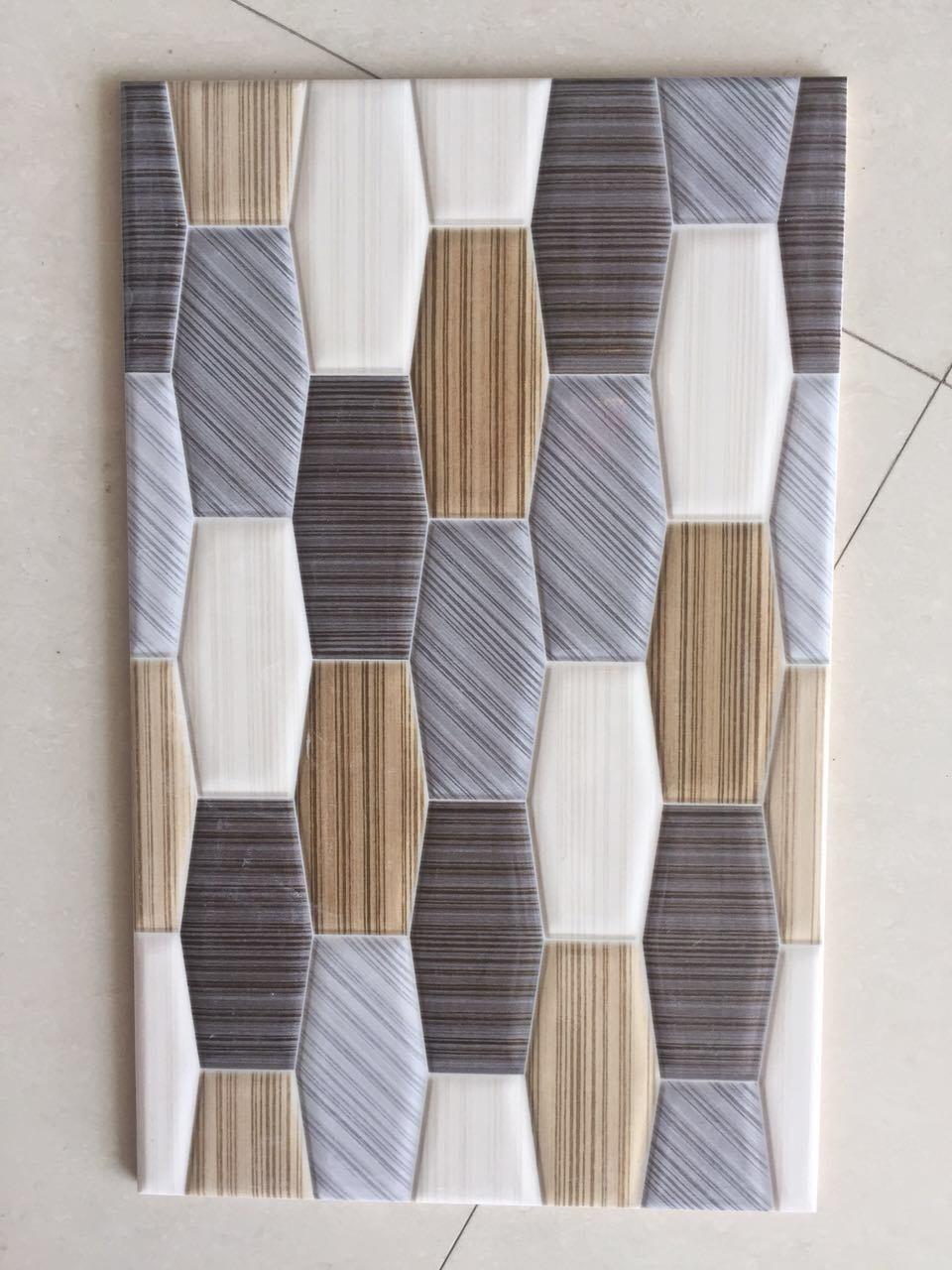 Minqing Fuzhou 3D Inkjet Water-Proof Bathroom Tile Ceramic Wall Tile