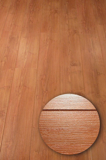 HDF Middle Embossed Surface Laminate Flooring(CE)