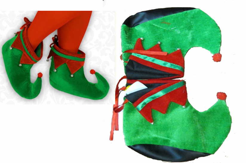 China santa claus shoes in stock m