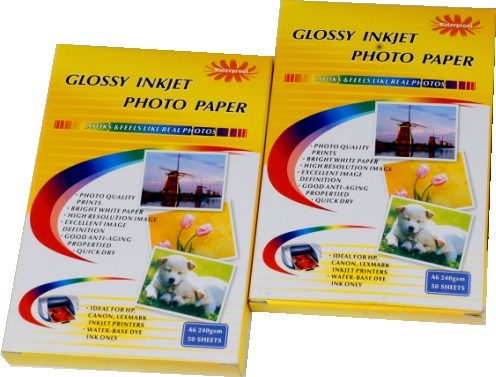 Glossy Inkjet Photo Paper for Printing