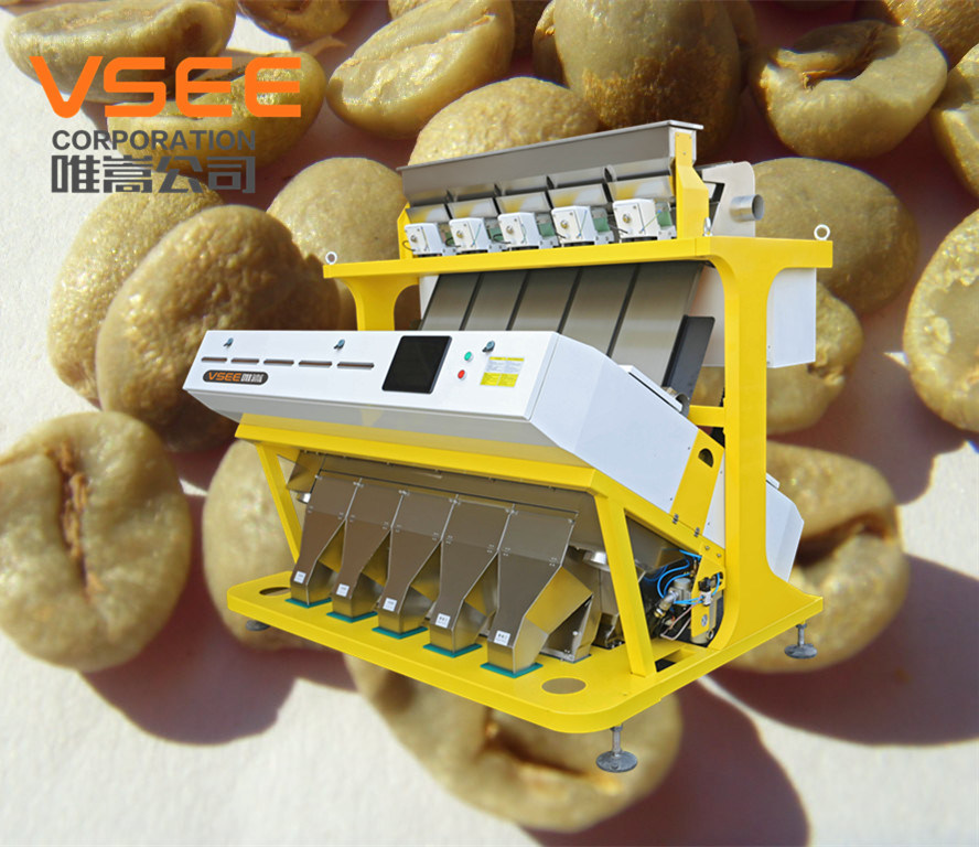 Vsee Professional CCD Coffee Bean Color Sorter
