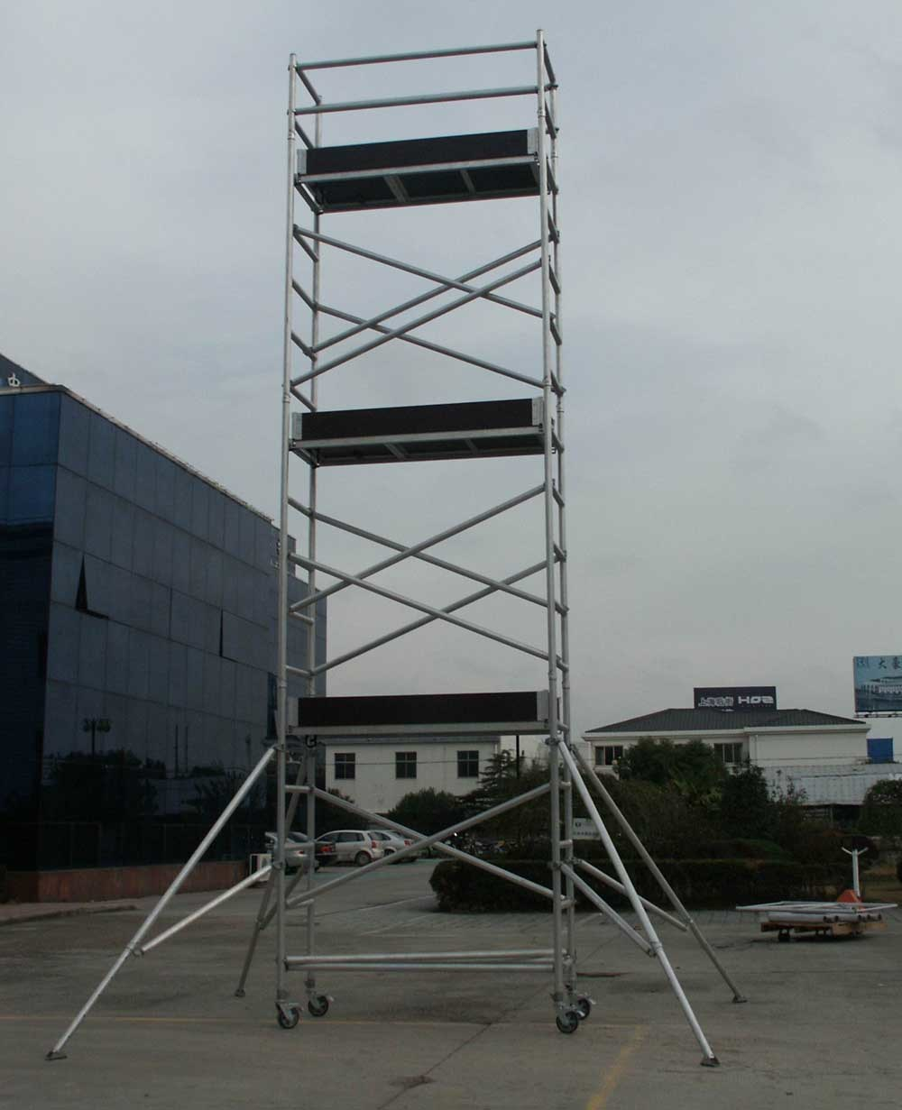 Aluminum Scaffold Tower : China aluminum scaffolding tower alu scaffold
