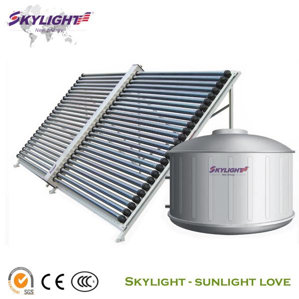 skylight split solar water system of heat pipe ce iso9001 2008