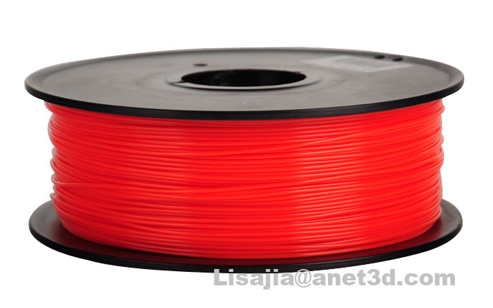 Factory Wholesale PLA 3 D Printer Fliament 1.75/ 3.0mm Red PLA Filament for 3D Printer