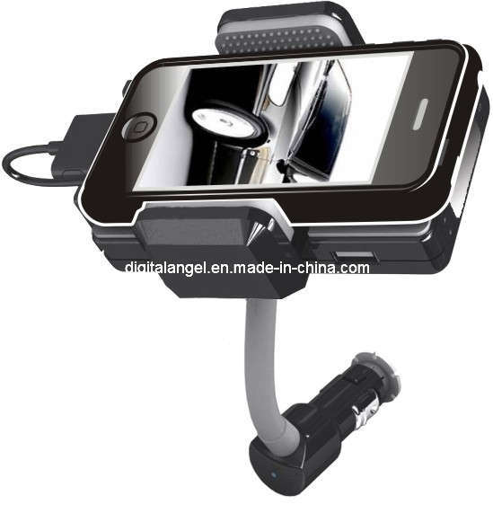 360 Degree Rotation All Car Kit Transmitter for iPhone 4, 3G, 3GS
