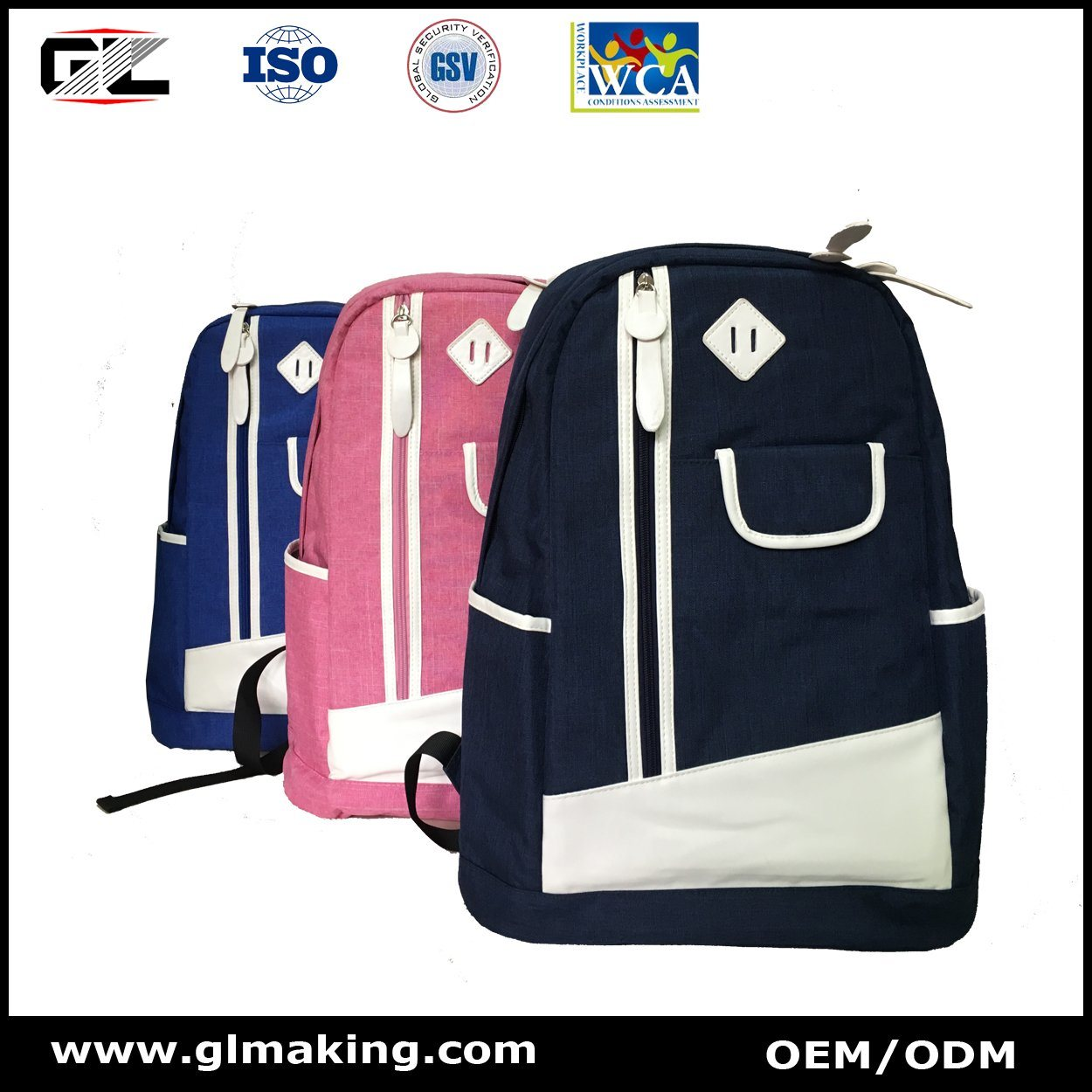 Leisure & Fashion Backpack From Manufacturer