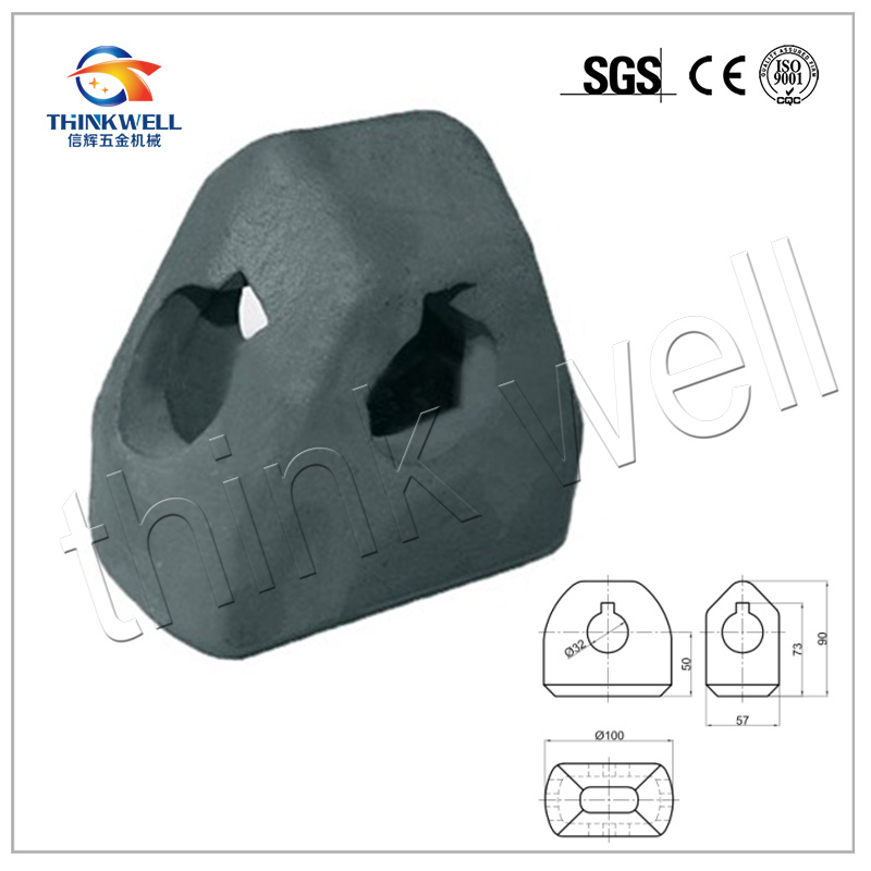 Casting Container Guide Cone with Alloy Steel