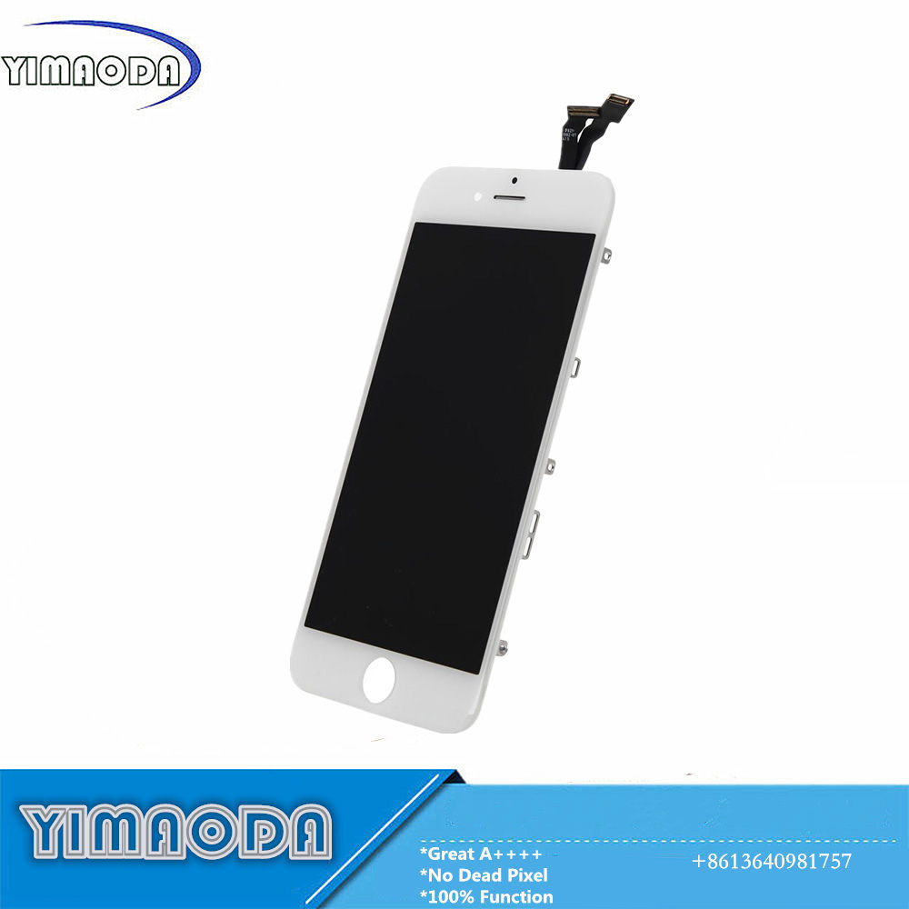 Mobile Phone LCD for iPhone 6 LCD Touch Screen with Flex Cable Small Parts