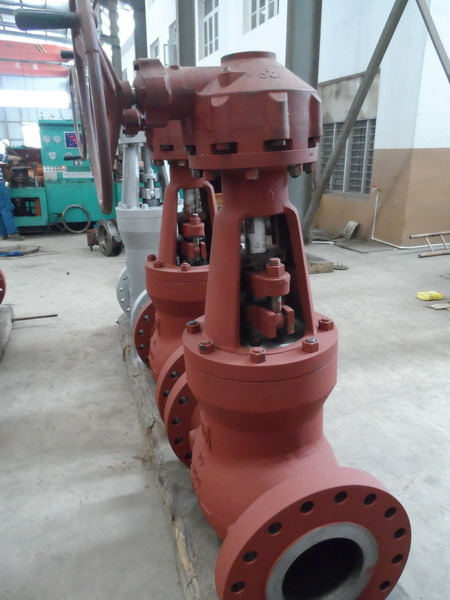 Cast Steel Gate Valve Worm Wheel Operated (Z41H-900LB-10