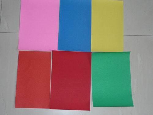 Colored Abrasive Paper