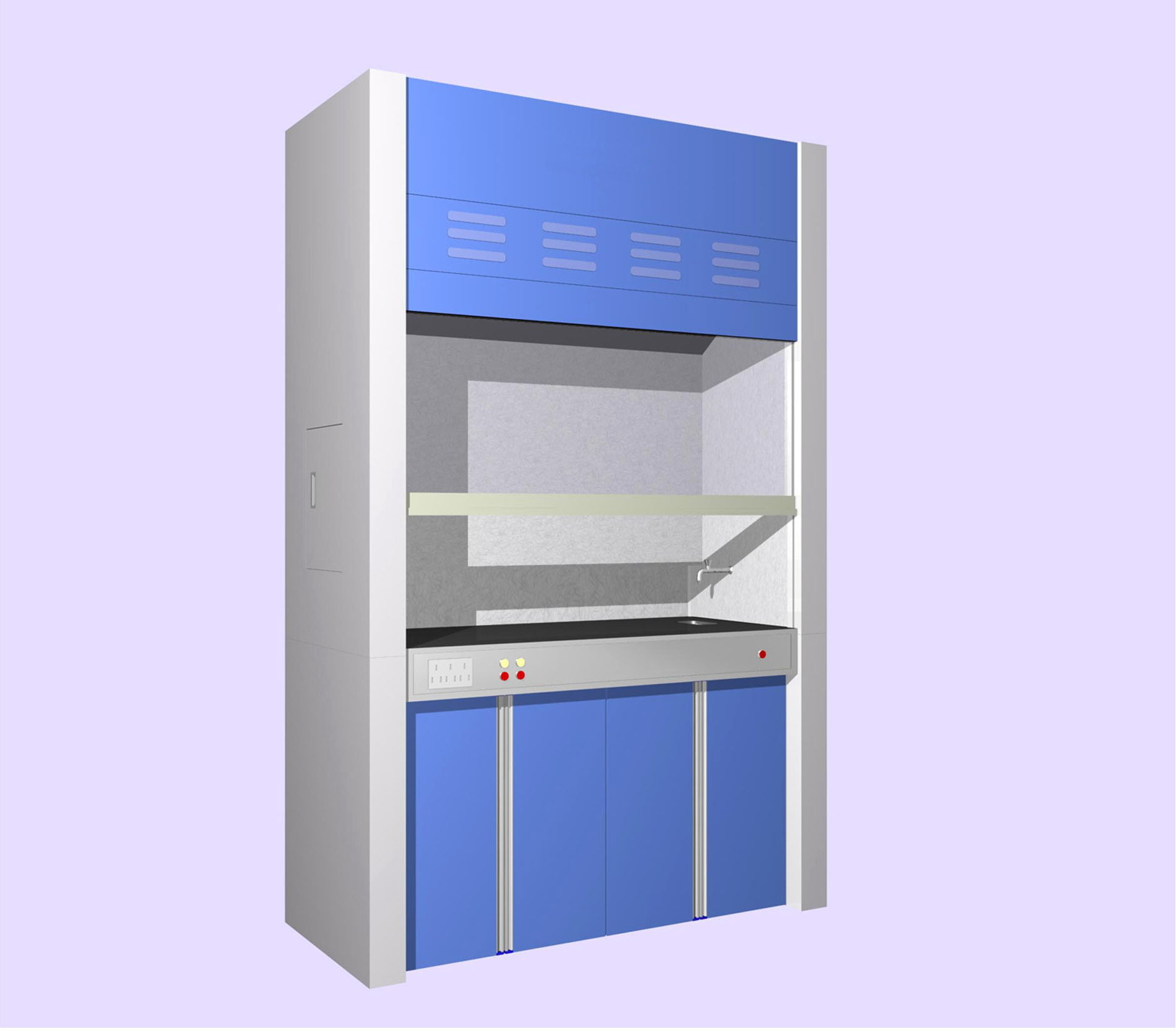 China Lab Fume Hood (H-BOF-FH3) - China Fume Cupboard, Fume Hood