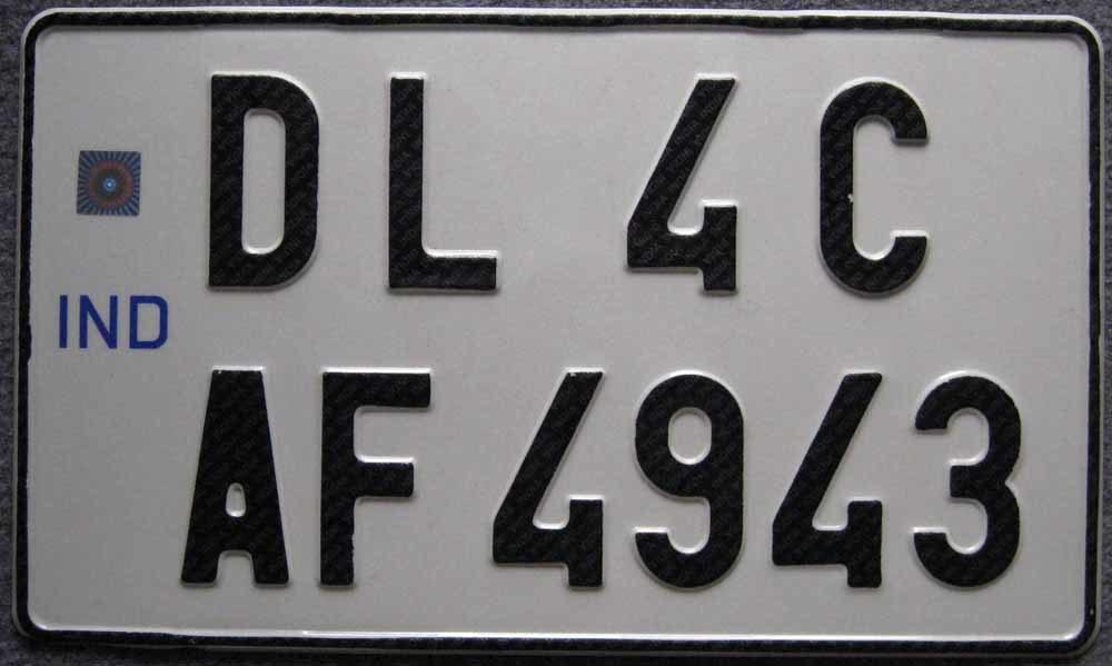 Aluminum License Plate Curacao (JS00130)