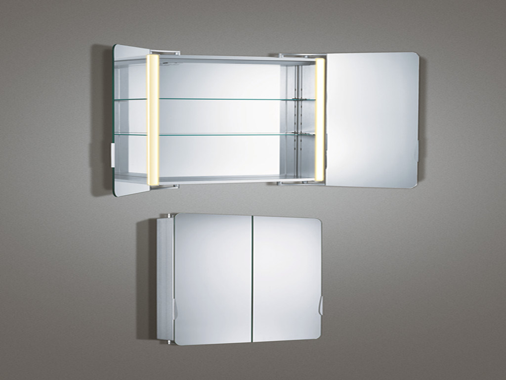 ILLUMINATED BATHROOM MIRROR CABINET-ILLUMINATED BATHROOM MIRROR