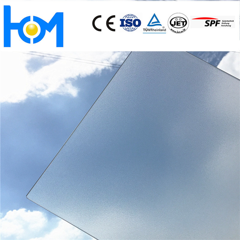 Factory From China Solar Thermal Energy Glass/ Tempered Glass for Solar Panel