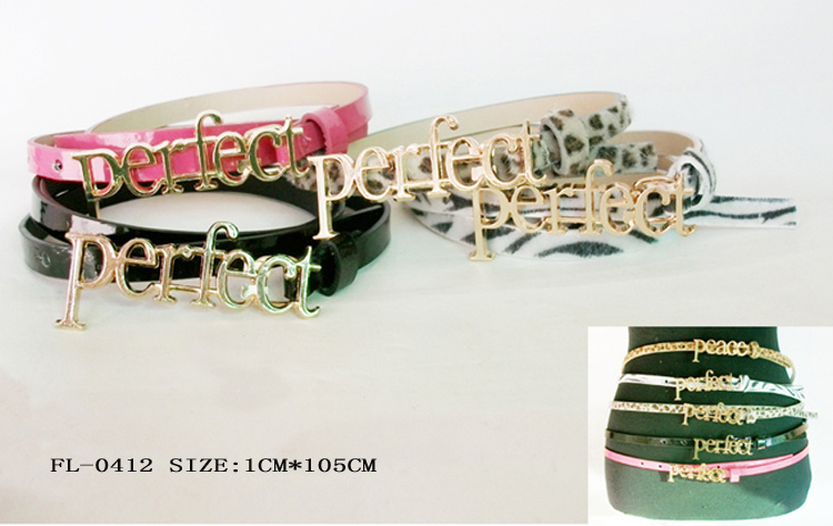Fashion Skinny Belt Fl-0412