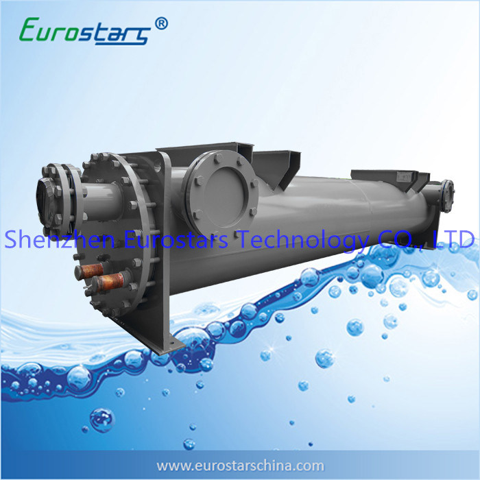 Water Chiller Evaporator Shell and Tube Heat Exchanger