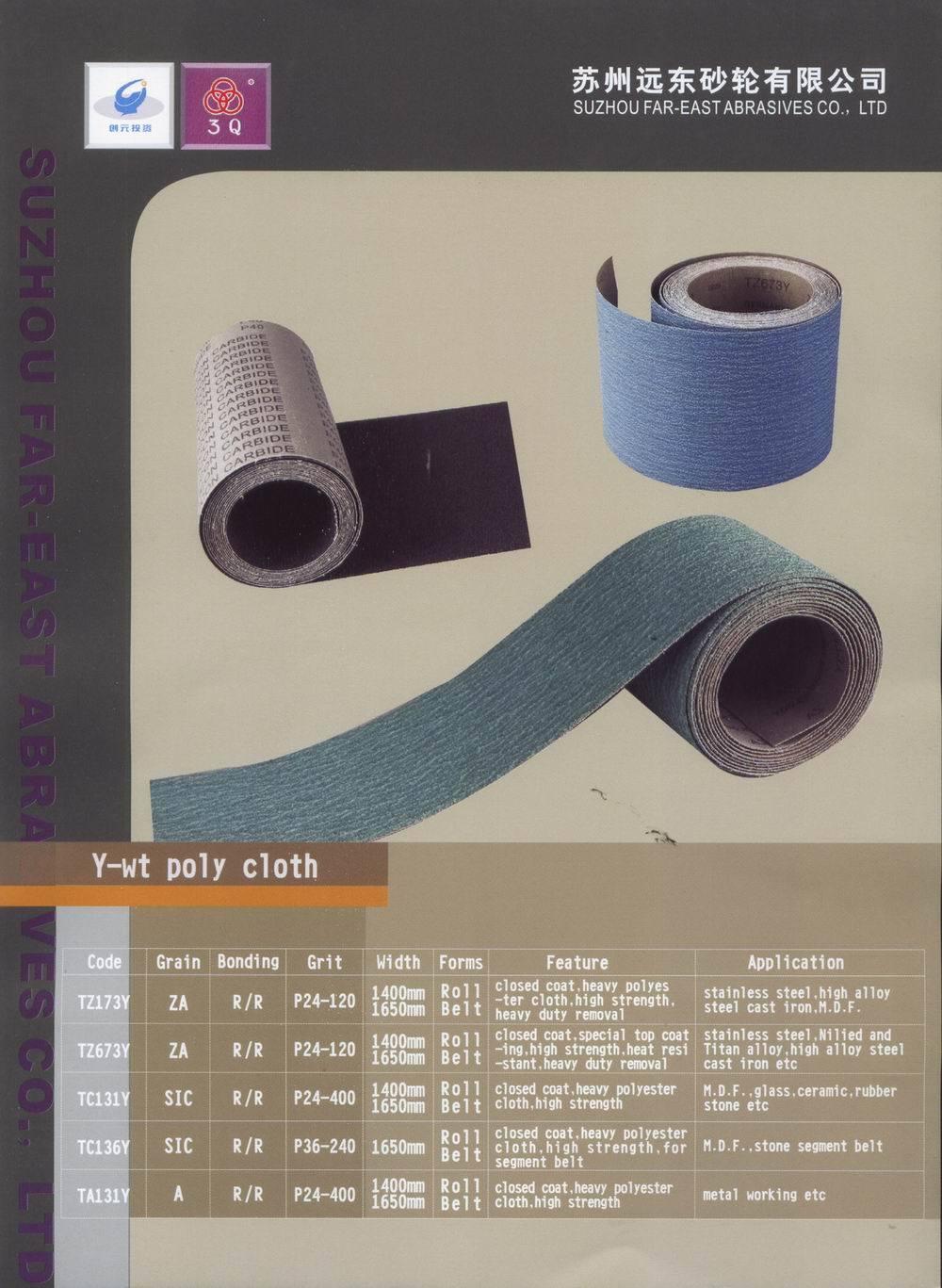 Zirconium Sanding Cloth Roll (TZ673A)