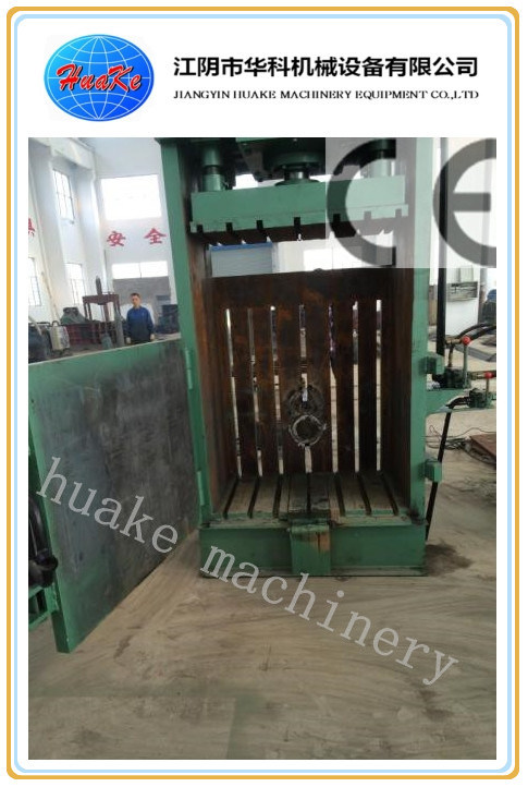 Y82 Vertical Drum Barrel Hydraulic Press Baler /Flattener/Crusher/Compactor