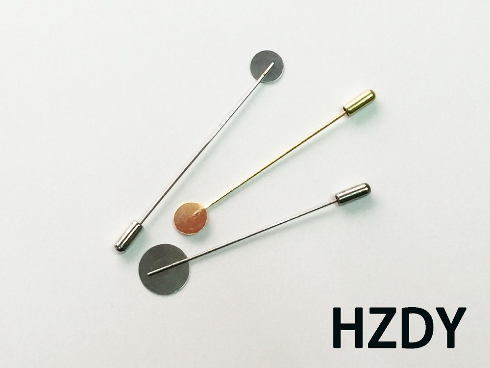 1.0cm Wafer Lapel Pin/Brooch with Copper Material