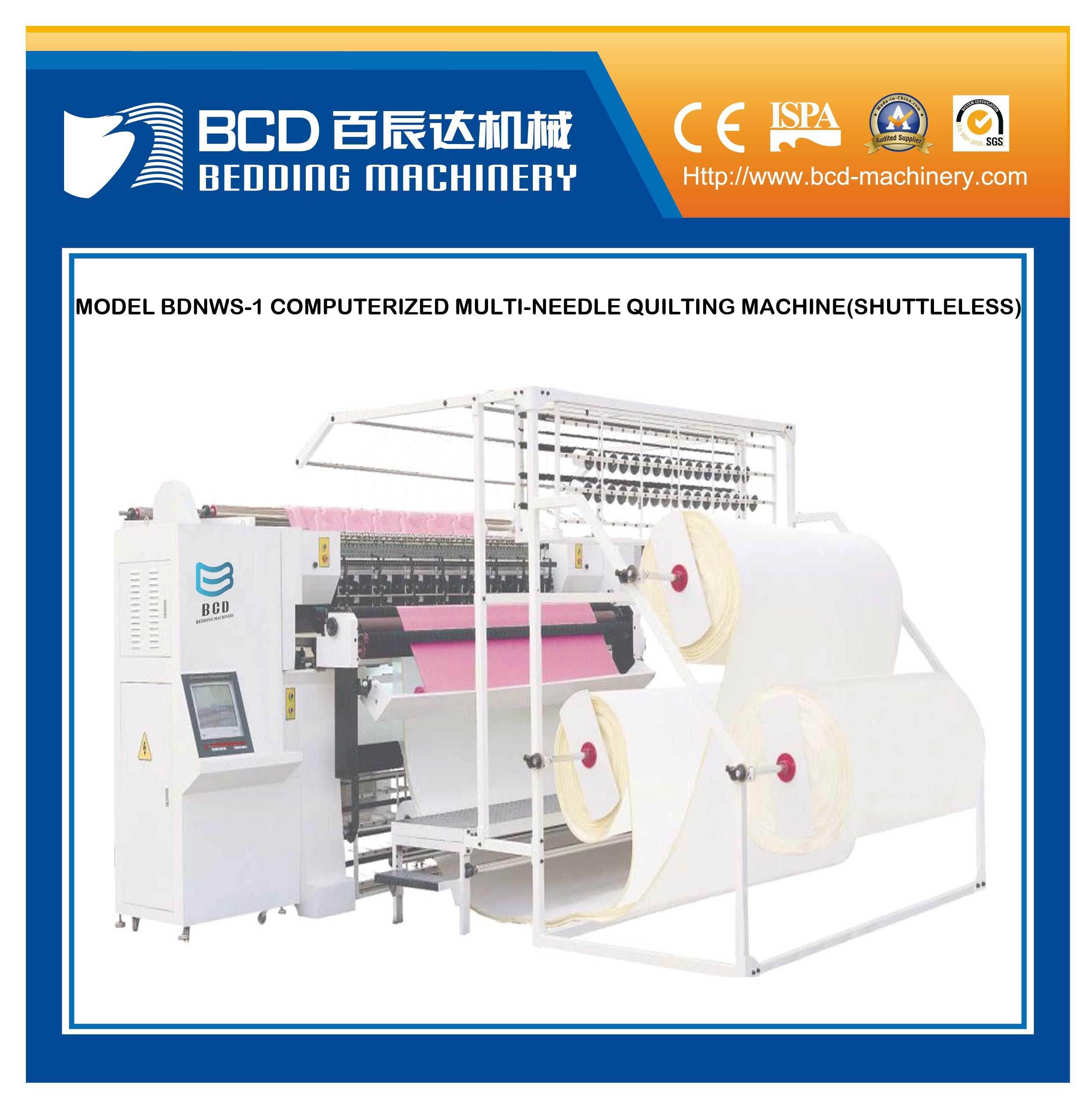 Computerized Multi-Needle Quilting Machine (BDNWS-1 Shuttleless)