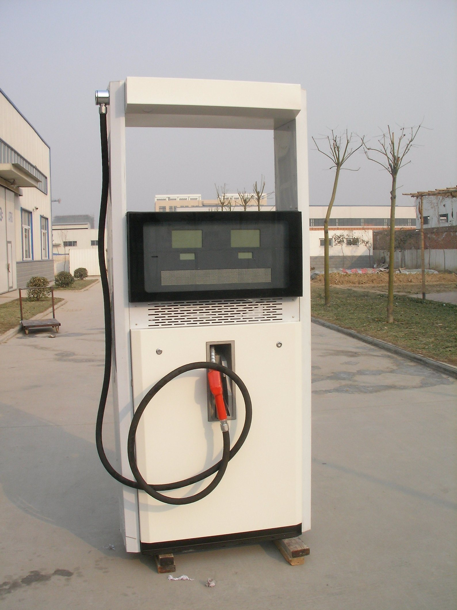 Two Nozzle Two Pump Oil Station Fuel Dispenser