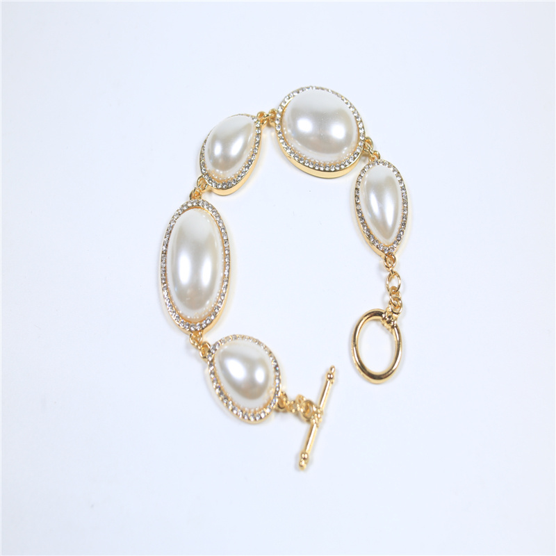 New Item Glass Acrylic Pearl Fashion Jewelry Earring Bracelet Necklace