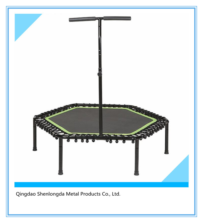 40-Inch Diameter Fitness Trampoline with Adjustable Stability Bar