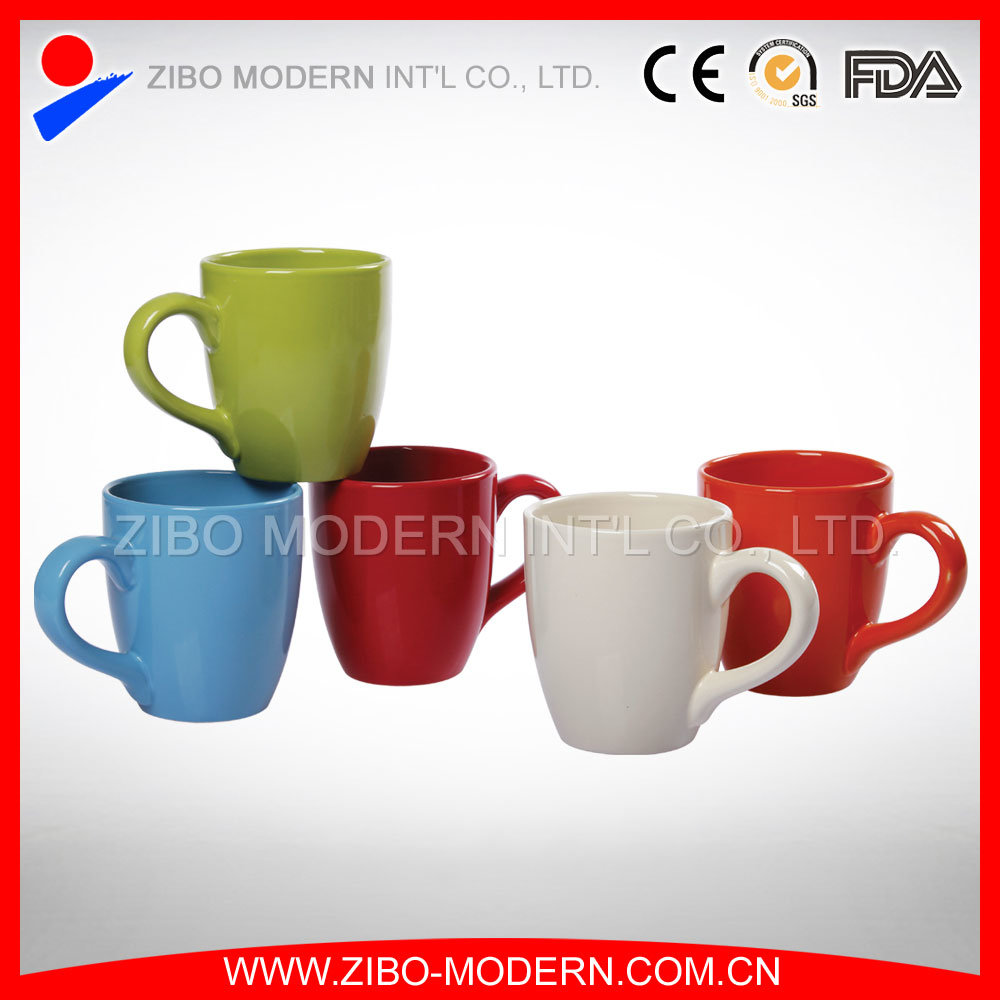 Wholesale Plain White Coffee Tea Mug Ceramic Cup