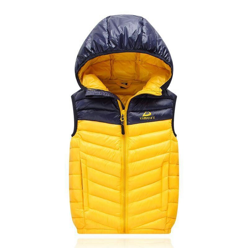 Mens Padded Down Casual Jacket with Hood