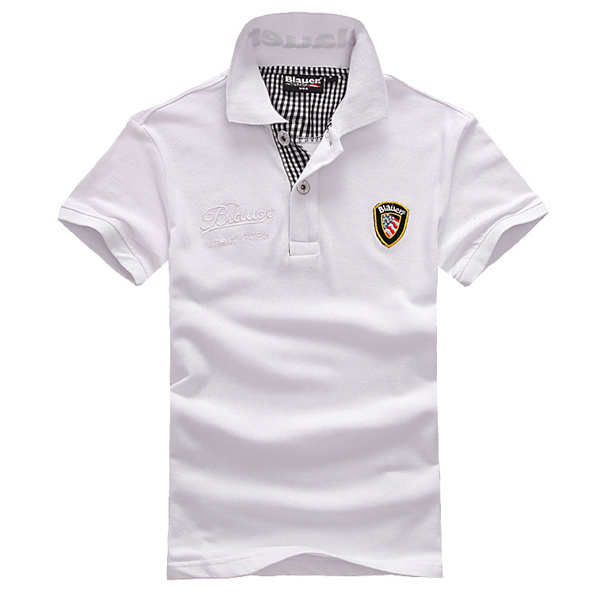 China fashion high quality white polo shirt made in china for Wholesale polo shirts with embroidery