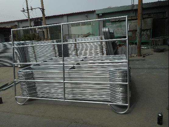 5foot*10foot Galvanized Steel Cattle Yard Panel/Used Livestock Panel