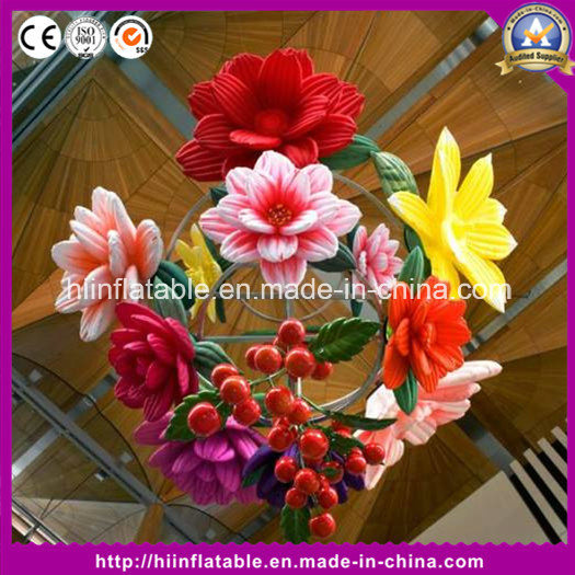 Hot Event Club Decoration Air Bubble Inflatable Balloon Flower