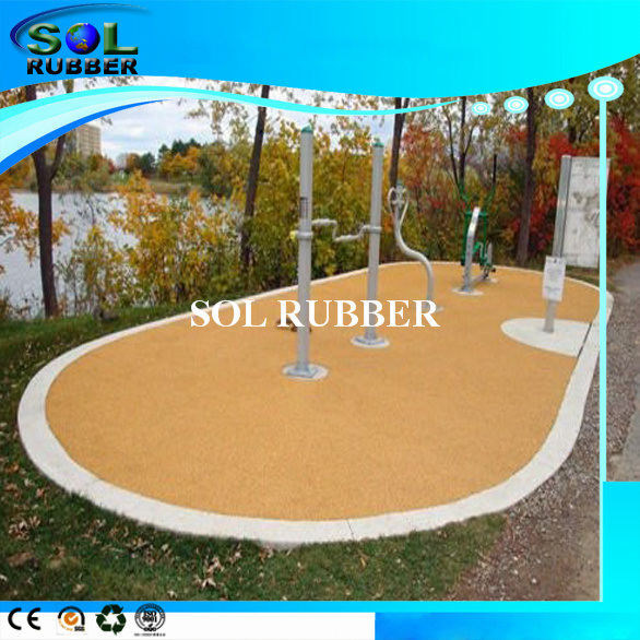 Colorful Sport Flooring Surface EPDM Rubber Granules