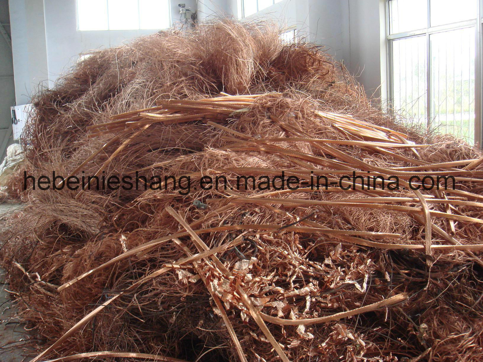 Supply Scrap Copper Wire Scrap 99.99%