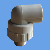 PPR Male Thread 90degree Elbow Union Water Supply Pipe Fittings