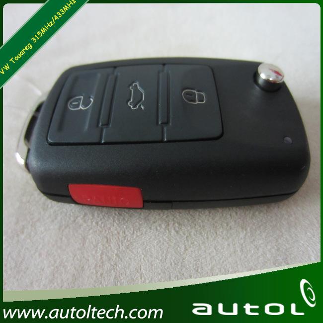 Car Remote Key for Volkswagen Touareg 315MHz/433MHz